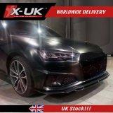 Audi A4 S-line / S4 2018-2019 B9 front lip gloss black fits Saloon / Avant