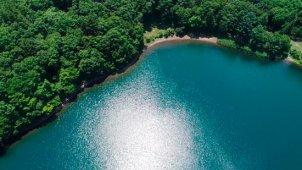 四尾連湖(しびれこ)上ティルトダウン