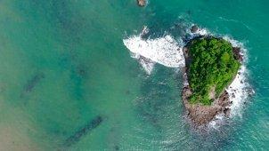 千葉県 鴨川松島 真俯瞰