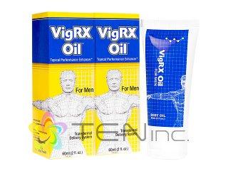 VigRXオイル 2本(60ml×2)(アメリカ製/国際書留)
