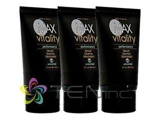 マックスバイタリティー(MAXVitality)パフォーマンスセクシャルスタミナトリートメント 3本(60ml×3)(アメリカ製/国際書留)