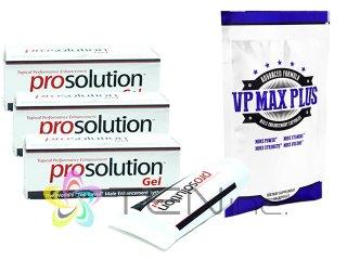 プロソリューションジェル3本(60ml×3)+VP-MAXプラス無料サンプル1袋10カプセル(アメリカ製/国際書留)