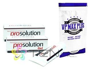 プロソリューションジェル2本(60ml×2)+VP-MAXプラス無料サンプル1袋10カプセル(アメリカ製/国際書留)