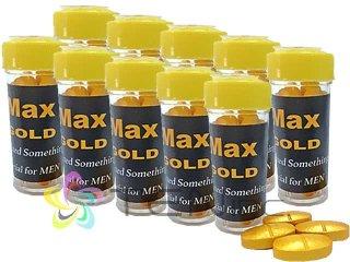 MAX GOLD(マックスゴールド)100mg 10箱(4tabs×10)(タイ/国際書留)