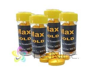 MAX GOLD(マックスゴールド)100mg 4箱(4tabs×4)(タイ/国際書留)