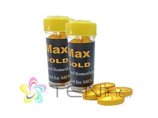 MAX GOLD(マックスゴールド)100mg 2箱(4tabs×2)(タイ/国際書留)