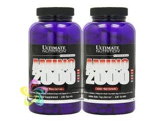 アミノ2000 2ボトル(330tabs×2)(USA/e-pelicanMailplus)