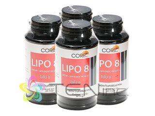 リポエイト(LIPO8) 4ボトル(50caps×4)(タイ製/国際書留)