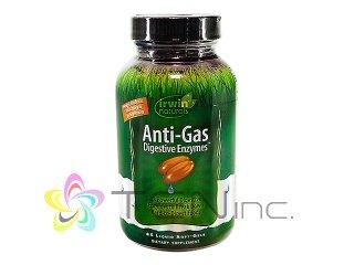 アンチガス・ダイジェスティブエンザイム 1ボトル45ソフトジェル(IrwinNaturals/アメリカ製/国際書留)