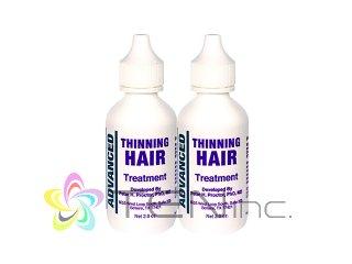 アドバンスドシンニングヘアトリートメント 2ボトル(60ml×2)(USA/e-pelicanMailplus)