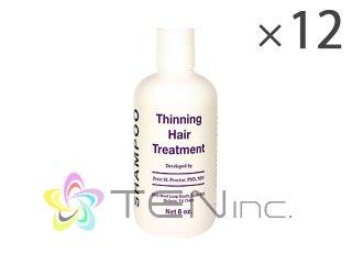 シンニングヘアトリートメントシャンプー 12ボトル(240ml×12)(USA/e-pelicanMailplus)