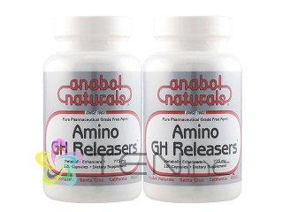 アミノGHリリーサー2ボトル(120caps×2)(USA/e-pelicanMailplus)