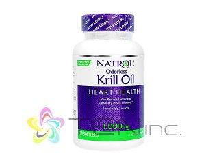 オドーレスクリルオイル(OdorlessKrillOil)1000mg 1ボトル30ソフトジェル(アメリカ製/国際書留)