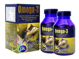 オメガ3フィッシュオイル(Omega3)2000mg 2ボトル(100caps×2)(アメリカ製/国際ヤマト)