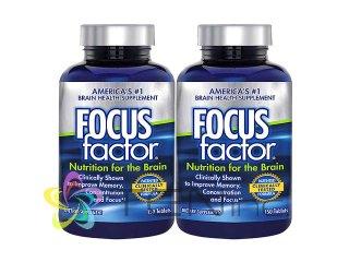 フォーカスファクター(FocusFactor) 2ボトル(150tabs×2)(USA/e-pelicanMailplus)