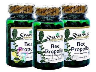 プロポリス(BeePropolis)550mg 3ボトル(60caps×3)(Swanson/アメリカ製/国際書留)