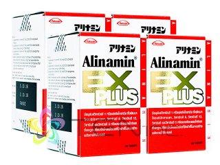 アリナミンEXプラス 4ボトル(60錠 x 4)(日本製/国際書留)