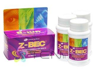 Z-BEC 3ボトル(60tabs x 3)(タイ製/国際書留)