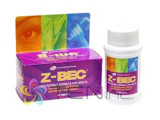 Z-BEC 1ボトル60錠(タイ製/国際書留)