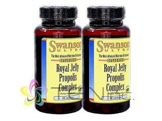 ウルトラローヤルゼリープロポリスコンプレックス 2ボトル(60caps×2)(Swanson/アメリカ製/国際書留)