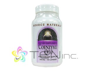 CoQ10-100mg1ボトル90ソフトジェル(SourceNaturals社アメリカ製/e-pelicanMailplus )