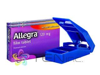 アレグラ120mg 2箱(20tabs×2)+ピルカッター1個(アメリカ製/国際書留)