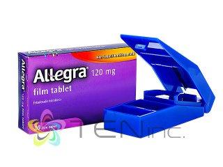 アレグラ120mg 1箱20錠+ピルカッター1個(アメリカ製/国際書留)