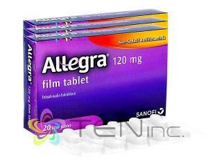 アレグラ120mg 3箱(20tabs×3)(アメリカ製/国際書留)