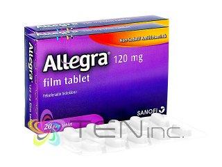 アレグラ120mg 2箱(20tabs×2)(アメリカ製/国際書留)