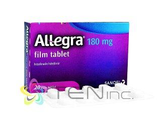 アレグラ180mg 1箱20錠(アメリカ製/国際書留)