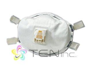 3M-8233 N100防毒マスク 15個(USA/e-pelicanMailplus)