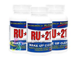 RU-21 3ボトル(120tabs x 3)(アメリカ製/国際書留)