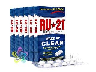 RU-21 6箱(20tabs x 6)(アメリカ製/国際書留)