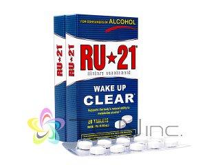 RU-21 2箱(20tabs x 2)(アメリカ製/国際書留)