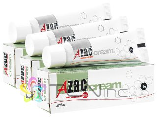 アゼライン酸(AzacCream)20%クリーム 3本(15g×3)(インド製/国際書留)