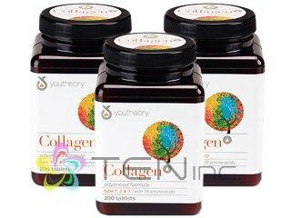 コラーゲンアドバンスドフォーミュラー 3ボトル(290tabs×3)(USA/e-pelicanMailplus)