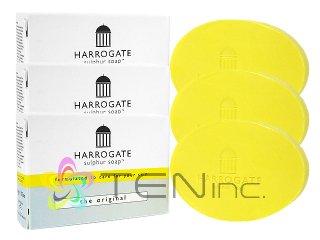 ハロゲート硫黄石鹸(オリジナル) 2個(50g×2)+1個サービス(イギリス製/国際書留)