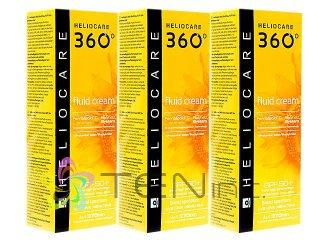 ヘリオケア360°フルイドクリーム(Heliocare360FluidCream)SPF50+ 3ボトル(50ml×3)(スペイン製/国際ヤマト)