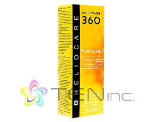 ヘリオケア360°フルイドクリーム(Heliocare360FluidCream)SPF50+ 1ボトル50ml(スペイン製/国際書留)