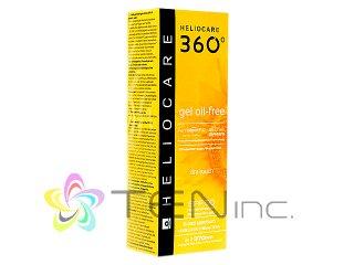 ヘリオケア360°ジェルオイルフリー(Heliocare360GelOil-Free)SPF50 1ボトル50ml(スペイン製/国際書留)