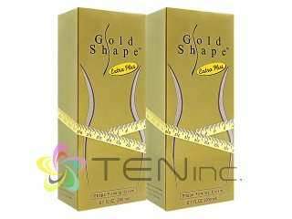 ゴールドシェイプ エクストラプラス・ファーミングクリーム 2本(200ml x 2)(タイ製/国際ヤマト)