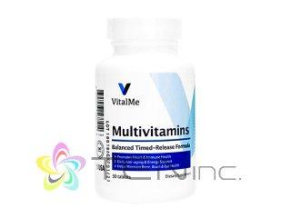 マルチビタミン(VitalMeMultivitamins)1ボトル30錠(バイタルミー/USA製/国際書留)