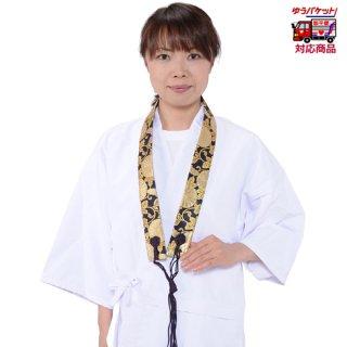 輪袈裟(金襴・上) 菊柄 紺