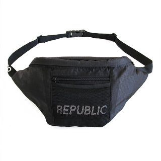 RIPSTOP WAIST BAG BLACK