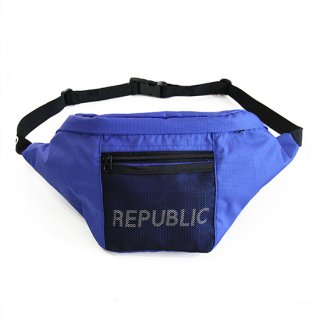 RIPSTOP WAIST BAG BLUE