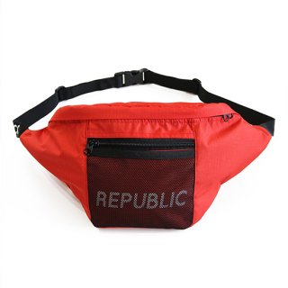 RIPSTOP WAIST BAG RED
