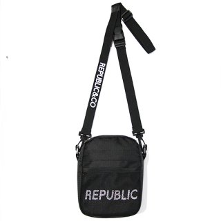 RIPSTOP MINI SHOULDER BAG BLACK