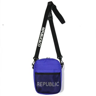 RIPSTOP MINI SHOULDER BAG BLUE