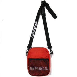 RIPSTOP MINI SHOULDER BAG RED