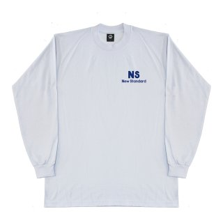 NEW STANDARD L/S TEE WHITE